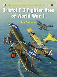 Bristol F2 Fighter Aces WW I, Osprey Publishing Item Number OSPACE79