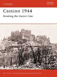 Cassino 1944, Osprey Publishing Item Number OSPCAM134
