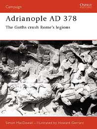 Adrianople AD 378, Osprey Publishing Item Number OSPCAM84