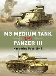 M3 Grant Vs Panzer III 1943, Osprey Publishing Item Number OSPDUE10