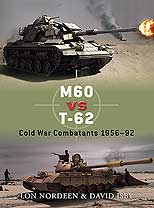 M60 Vs T-62 Cold War 1956-92, Osprey Publishing Item Number OSPDUE30