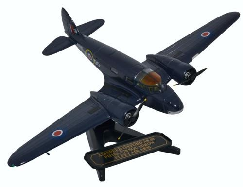 Airspeed AS.10 Oxford T.I, PH185, No. 778 Squadron, Fleet Air Arm, RNAS Ford (1:72), Oxford Diecast 1:72 Scale Models Item Number 72AO002
