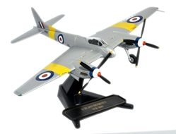 DH.103 Hornet, Far East Training Sqn., RAF Seletar/Butterworth, 1955, Oxford Diecast 1:72 Scale Models Item Number 72HOR001