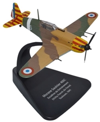 Morane Saulnier 406C Escadron de Entrainement, French Air Force, 1941 (1:72), Oxford Diecast 1:72 Scale Models Item Number AC038
