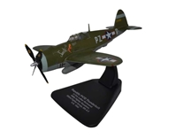 "Republic P-47D Thunderbolt ""Sweetie,"" Lt. Col. Luther Richmond, 486th FS, 352nd FG, USAAF, 1944 (1:72), Oxford Diecast 1:72 Scale Models Item Number AC063"