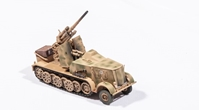 Sd.Kfz.8 DB9 Halftrack with 88mm Flak 18, Tan (1:72), Precision Model Art Item Number PMA-P0308