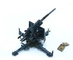 88mm Flak 37, Grey (1:72), Precision Model Art Item Number PMA-P0310