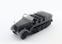 Sd.Kfz.8 Schwerer Zugkraftwagen 12T, Grey (1:72), Precision Model Art Item Number PMA-P0315