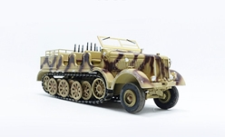 Sd.Kfz.8 Schwerer Zugkraftwagen 12T, Tan (1:72), Precision Model Art Item Number PMA-P0317
