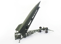 V-2 Rocket with Meillerwagen and Brennstand, Late Production, Spring 1945 (1:72), Precision Model Art Item Number PMA-P0322