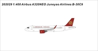 Juneyao Airlines A320NEO B-30C0 (1:400)