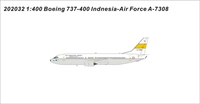 Indonesian Air Force B737-400 A-7308 (1:400)