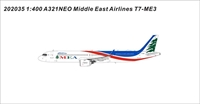 MEA Middle East Airlines A321Neo T7-ME3 MSN 10000 A320 Family (1:400)
