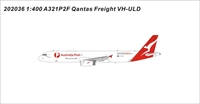 Qantas Freight A321-200P2F VH-ULD World's first A321P2F (1:400)