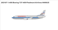 ?Piedmont Airlines B737-400 N406US 1:400