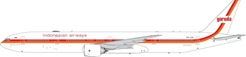 Garuda Indonesian Airways B777-300ER Retro Colros PK-GIK ((1:400)) by Phoenix (1:400) Scale Diecast Aircraft Model number PH4GIA1896