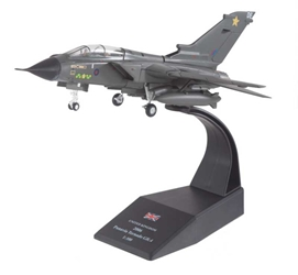 "Panavia Tornado GR.4 1:100 Scale, 31 ""Goldstars"" Squadron, RAF Northolt, 2006 (1:72), Royal Air Force Diecast Item Number RAF40610"
