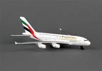 Emirates A380 Diecast Metal Toy Plane, Realtoy Item Number RT9904