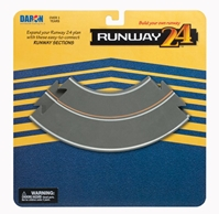 Taxi Way Curved Sections (2 Pieces) by Runway 24 item number: RW905