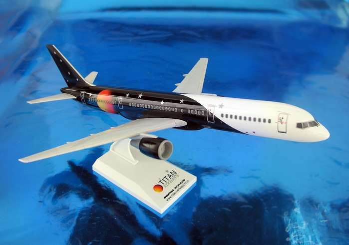 Titan Airways 757-200(1:150), SkyMarks Airliners Models Item Number SKR381
