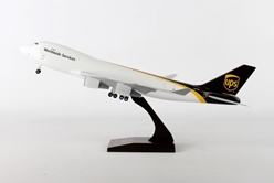 UPS 747-400F (1:200) W/Gear by SkyMarks Airliners Models item number: SKR484