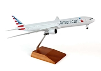 American 777-300 (1:200) with gear & Wood Stand