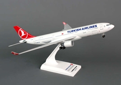 Turkish A330-200 (1:200) with Gear, SkyMarks Airliners Models Item Number SKR743