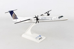 United Express Q-400 New Livery (1:100) by SkyMarks Airliners Models item number: SKR797