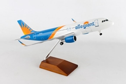 Allegiant A320 New Livery (1:100) by Skymarks Supreme Desktop Aircraft Models item number: SKR8329
