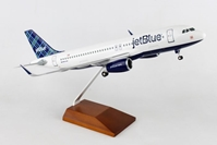 "Jetblue A320 ""Tartan"" (1:100) by Skymarks Supreme Desktop Aircraft Models item number: SKR8354"