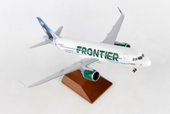 Frontier A320 Puffin (1:100) by Skymarks Supreme Desktop Aircraft Models item number: SKR8357