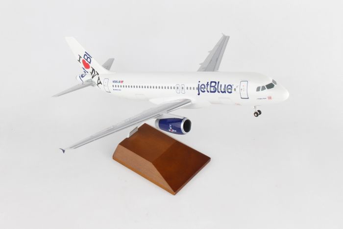 Jetblue A320 Nys Hometown (1:100) by Skymarks Supreme Desktop Aircraft Models item number: SKR8371