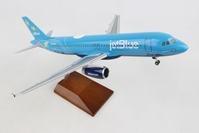 "Jetblue A320 ""Bluerica"" N779JB (1:100) by Skymarks Supreme Desktop Aircraft Models item number: SKR8376"