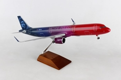 Alaska A321neo MORE TO LOVE (1:100) by Skymarks Supreme Desktop Aircraft Models item number: SKR8413