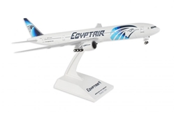 EgyptAir 777-300 (1:200) SU-GDL With Gear by SkyMarks Airliners Models item number: SKR855