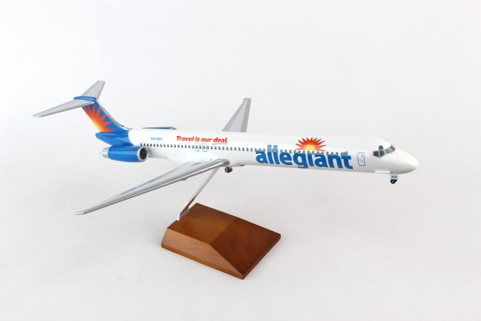 Allegiant MD-80 N415NV (1:100) by SkyMarks Airliners Models item number: SKR8611