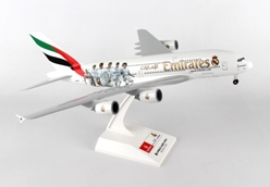 "Emirates A380-800 ""Real Madrid"" (1:200) by SkyMarks Airliners Models item number: SKR880"