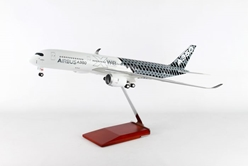 "Airbus A350XWB ""Carbon Fiber"" (1:100) by Skymarks Supreme Desktop Aircraft Models item number: SKR8804"