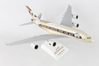"Etihad A380 ""Year of Zayed"" (1:200) with Gear by SkyMarks Airliners Models item number: SKR884"