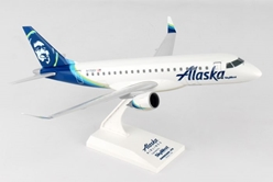 "Alaska ERJ-175 ""SkyWest"" New Livery N170SY (1:100) by SkyMarks Airliners Models item number: SKR904"