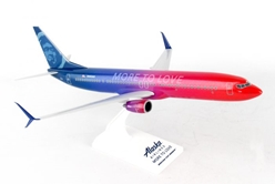 "Alaska 737-900ER ""More to Love"" (1:130) by SkyMarks Airliners Models item number: SKR913"