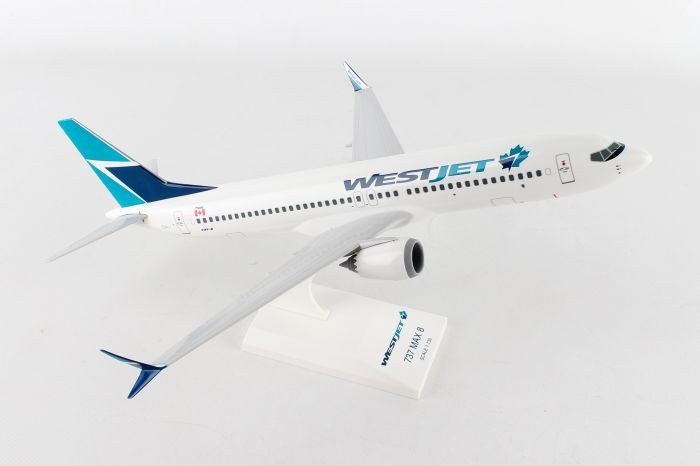Westjet 737-MAX8 (1:130) by SkyMarks Airliners Models item number: SKR919