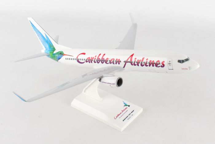 Caribbean Airlines 737-800 (1:130) by SkyMarks Airliners Models item number: SKR920