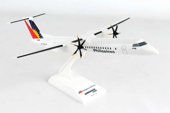 Philippine Airlines Q400  (1:100) by SkyMarks Airliners Models item number: SKR927