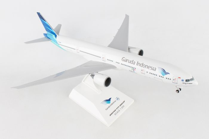 Garuda Indonesia 777-300ER (1:200) with Gear by SkyMarks Airliners Models item number: SKR966