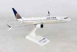 United 737MAX9 1:130 by SkyMarks Airliners Models item number: SKR988