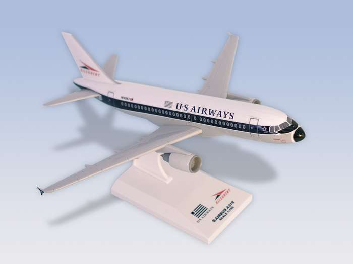 Us Airways A319 Allegheny (1:150), SkyMarks Airliners Models Item Number SKR301