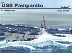 Uss Pampanito On Deck, Squadron Signal Publications Item Number SS5604