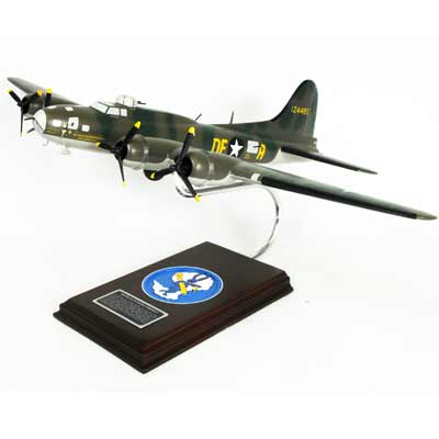 "B-17F Flying Fortress ""Memphis Belle"" (1:54), TMC Pacific Desktop Airplane Models Item Number AB17MBTS"