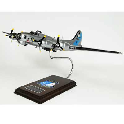 "B-17G Flying Fortress ""Sentimental Journey"" (1:62), TMC Pacific Desktop Airplane Models Item Number AB17SJ"